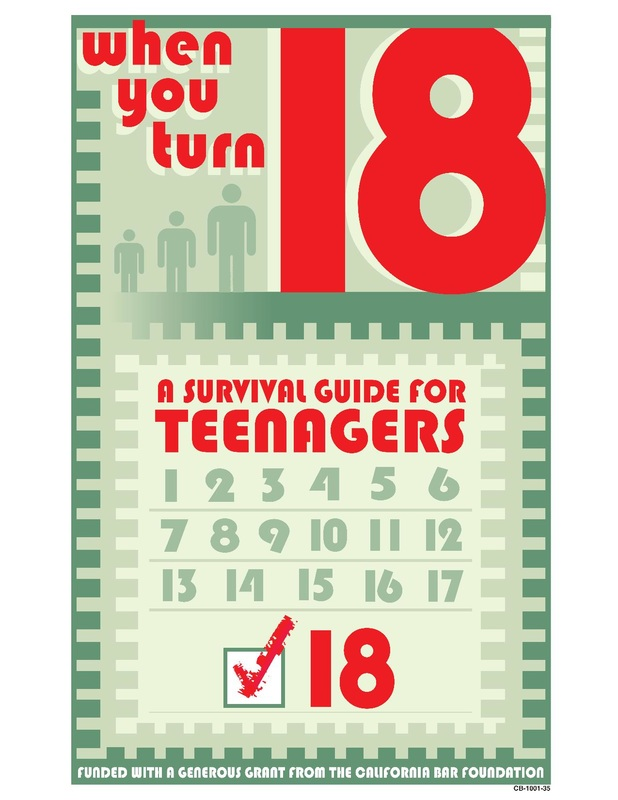 Now that you are 18 years old - A survival guide for teenagers